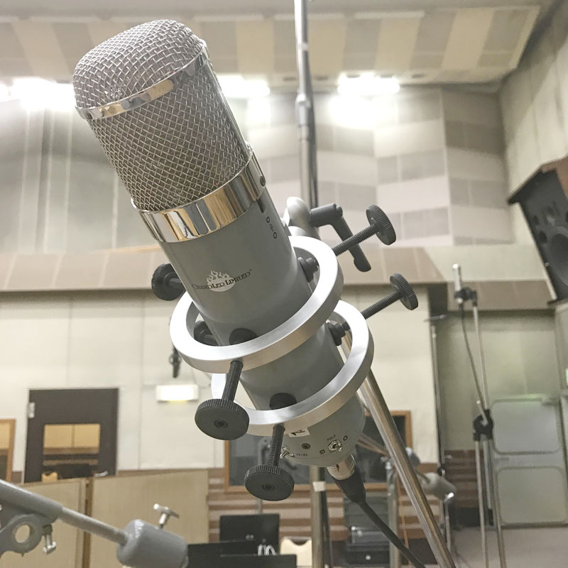 Chandler Limited REDD Microphone,コンデンサーマイク,ボーカルマイク,チャンドラーマイク,レビュー,音質,評価,導入事例