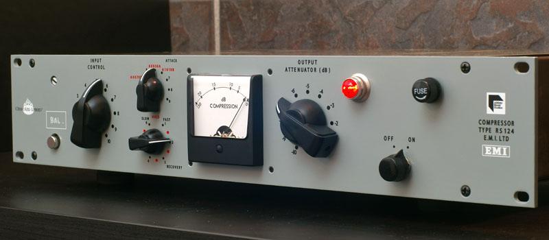 CHANDLER LIMITED,RS124,Altec 436,ビートルズ,コンプレッサー,アビーロード機材,ビンテージコンプ,Vari-Muタイプ真空管コンプレッサー