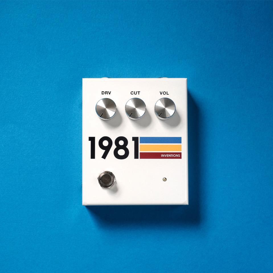 1981 INVENTIONS,DRV,1981インベンションズ,エフェクター,ギターペダル,歪ペダル,ディストーション,オーバードライブ,プリアンプ,ブースター,1985 whteface RAT,ホワイトフェースRAT,Bondi Effects,Jon,Matthew Hoopes,Relient K,ギタリスト,DRV No3