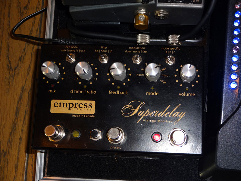 Empress Tremolo Delay レビュー