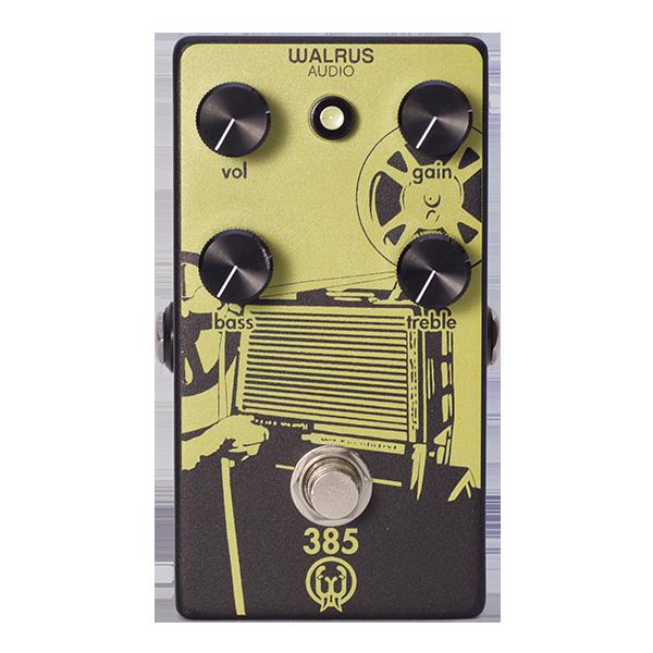 オーバードライブ,ギターエフェクター,ギターペダル,Walrus Audio,385,真空管アンプ・ライク