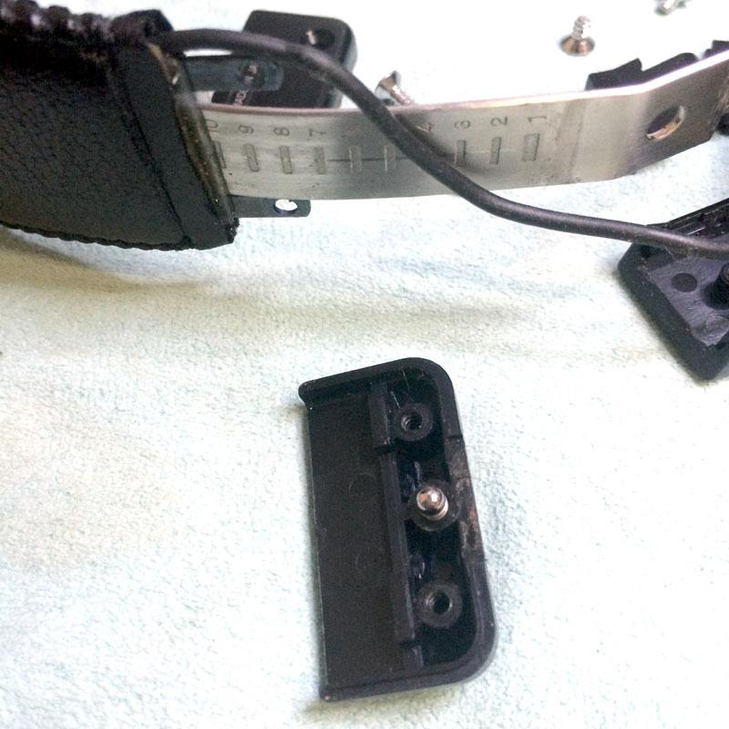 SONY MDR-CD900ST 折りたたみ改造,900ST ミニプラグ改造,モディファイ