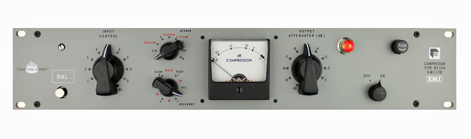 Chandler Limited,RS124,ALTEC 436,真空管コンプレッサー,ビートルズ コンプレッサー,BEATLES録音機材,
