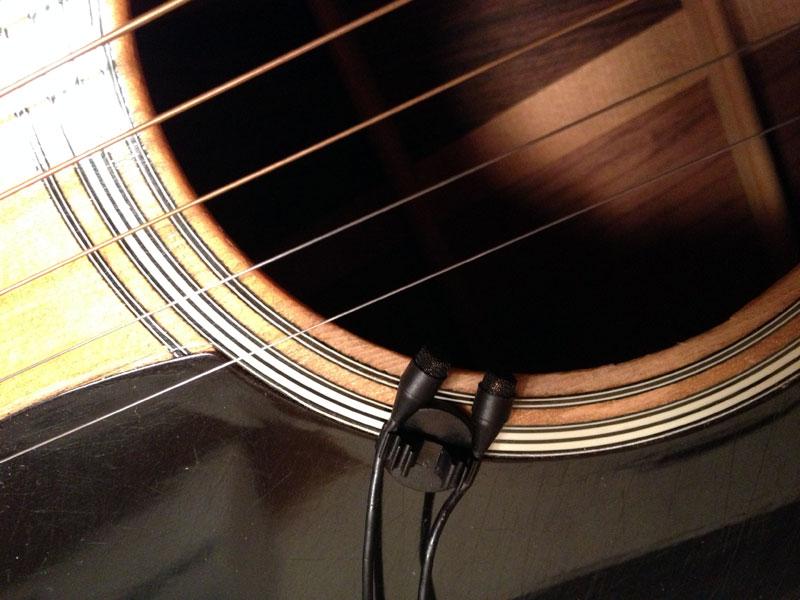 DPA-4060-4061 ミニチュアマイクロホン 弦楽器