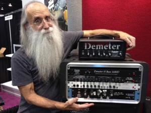 Leland Sklar Demeter ディメター ベース 機材