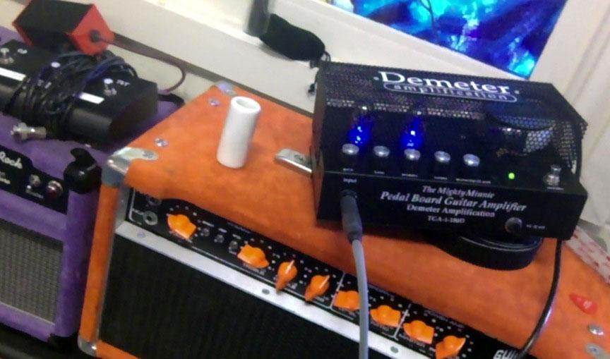 Demeter TGA-1-180D The Mighty Minnie サウンドレビュー