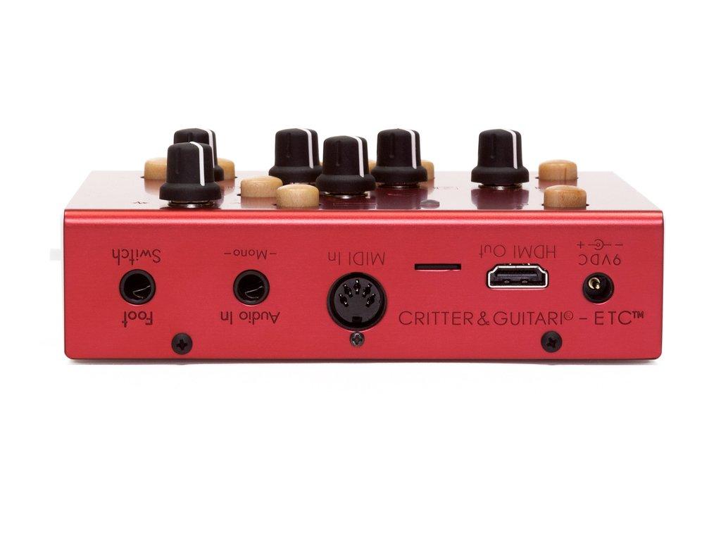 Critter & Guitari,ETC,ビデオシンセサイザー,クリッター&ギターリ