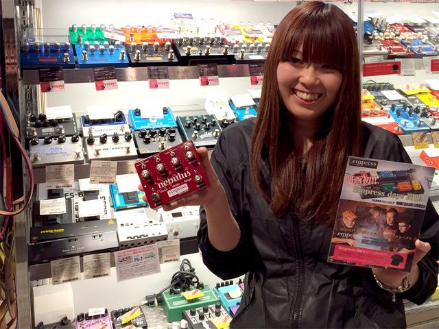 ぜひ三木楽器梅田店様でEmpress Effectsのサウンドと機能性を試奏してください!