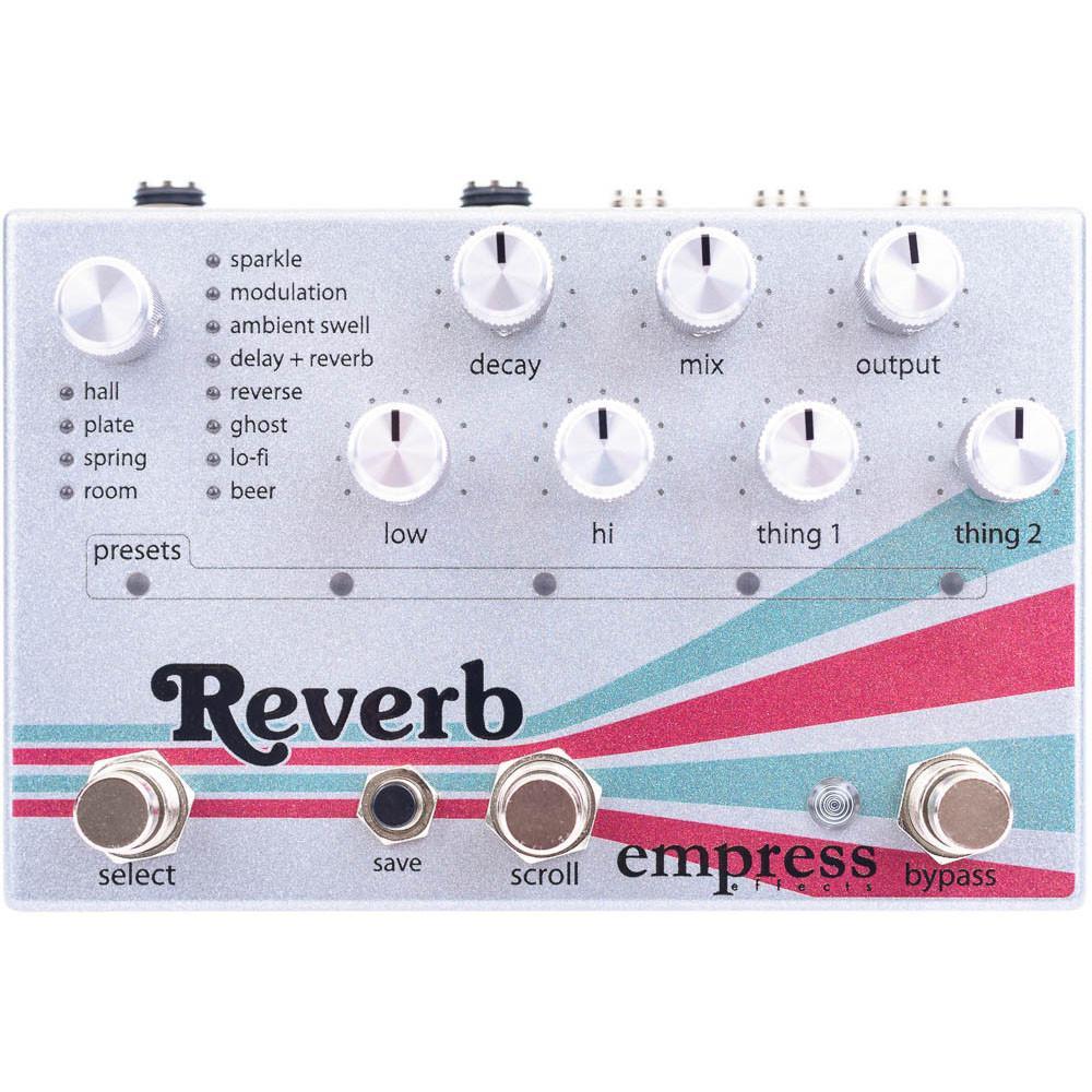 Empress Effects,エンプレスエフェクト,Reverb,リバーブ,ディレイ,Echosystem,エコーシステム,インタビュー,レビュー,評価,音質,サウンド,エフェクター,ギターペダル,Delay,Reverb