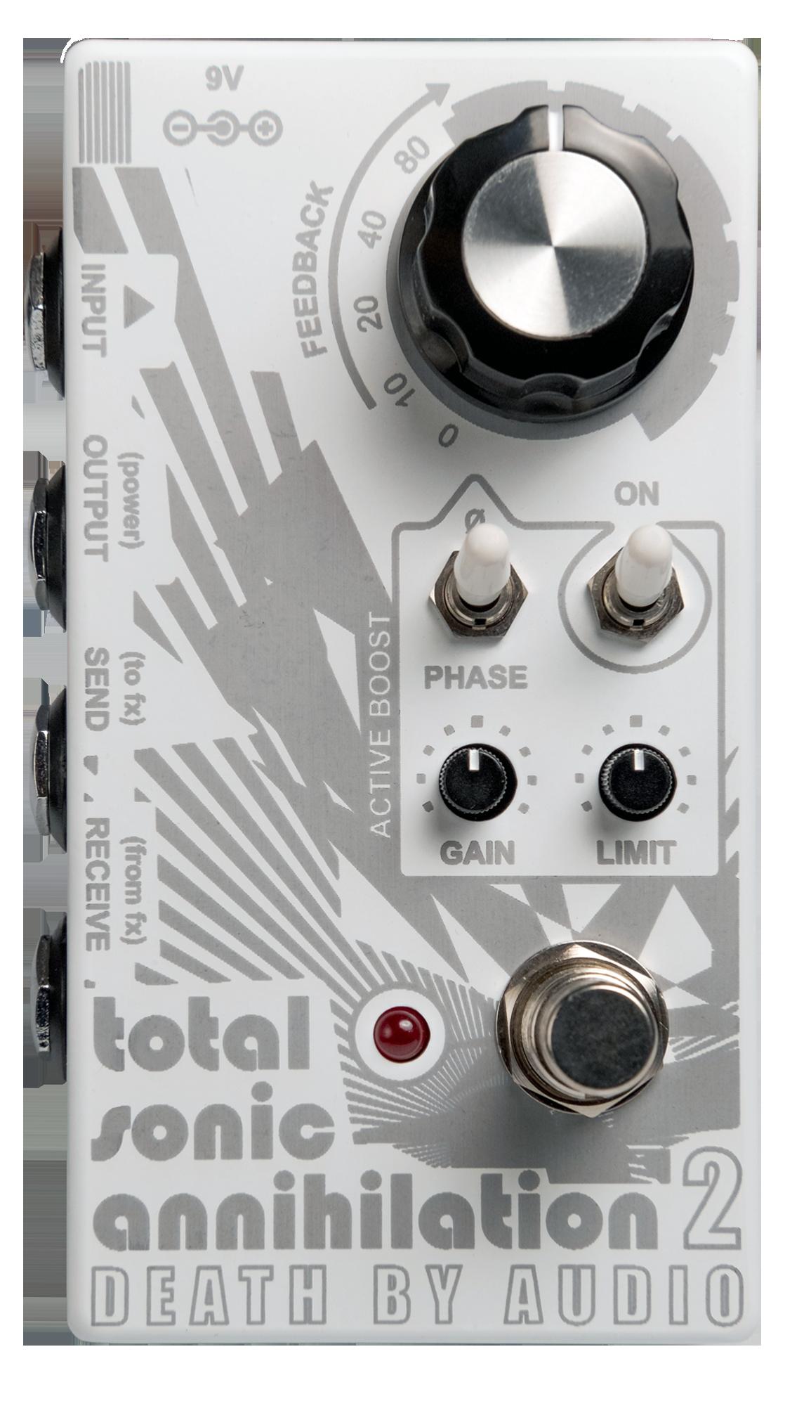 Death By Audio,Total Sonic Annihilation2,TSA2,フィードバックループ