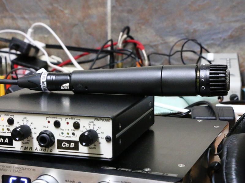 アクティブバッファーマイクケーブル,ダイナミックマイク,改造,音質,Make-lab.