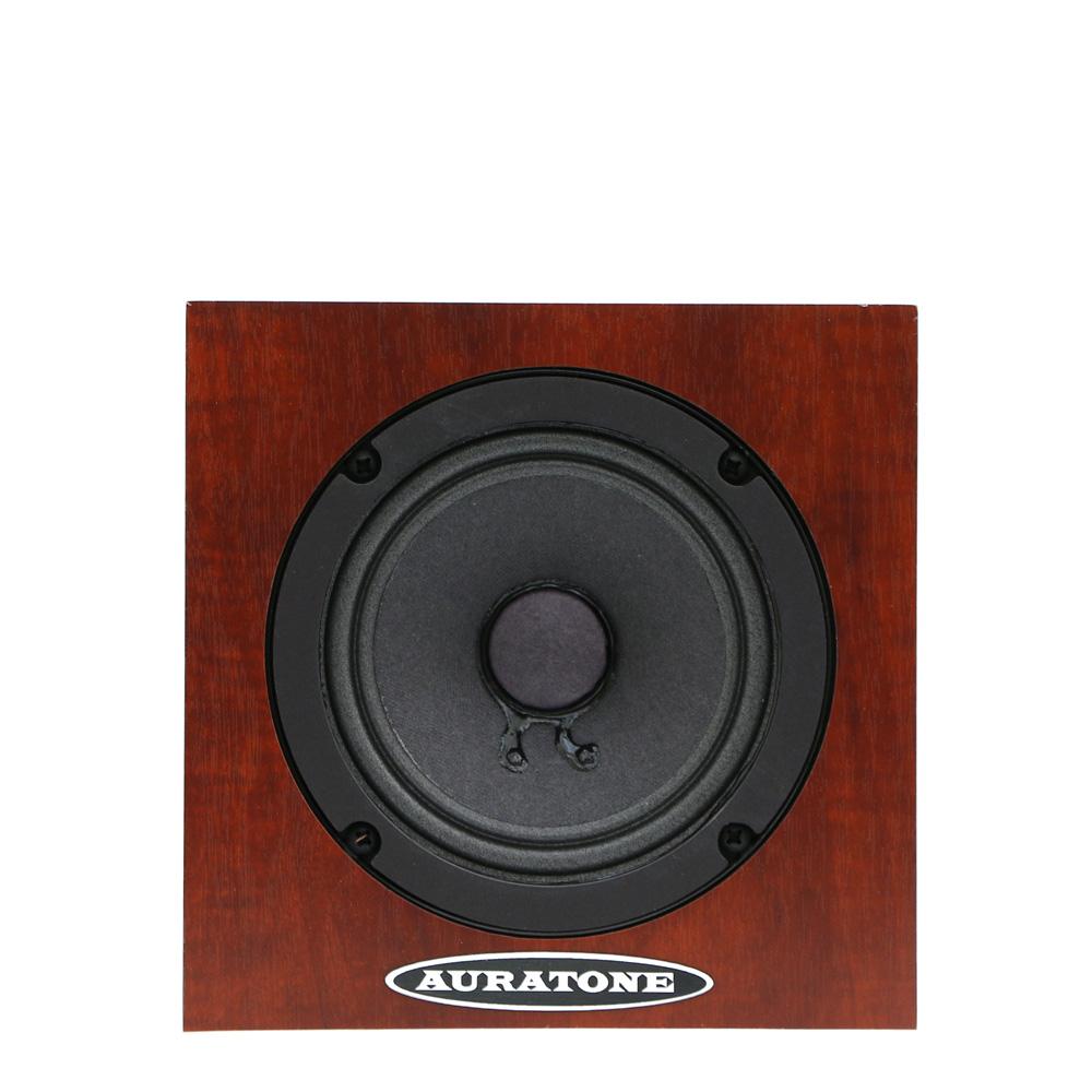 auratone,オーラトーン,フルレンジモニタースピーカー.5C SUPER SOUND CUBE,Wood,ウッド,木目,ブラック,黒