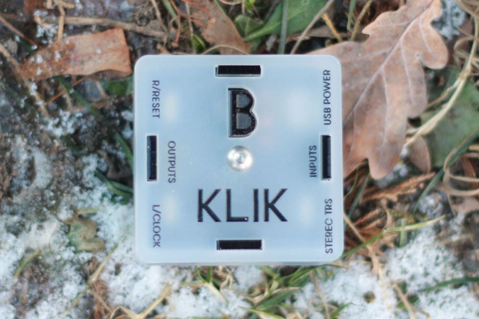 BASTL INSTRUMENTS,KLIK,オーディオ-アナログ同期信号,オーディオーアナログシンク変換