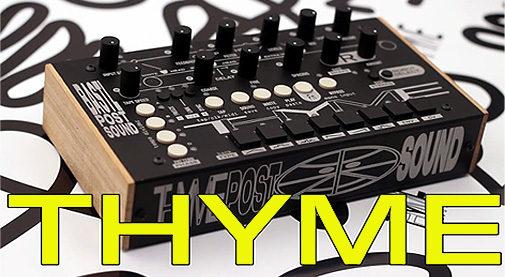 Bastl Instruments,Thyme,バストル,タイム,ディレイ,デスクトップエフェクター,CV対応エフェクター