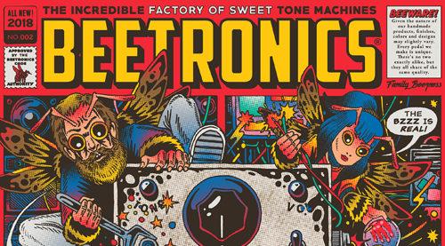 Beetronics,ビートロニクス,エフェクター,ギターペダル,ファズ,オクターブファズ,