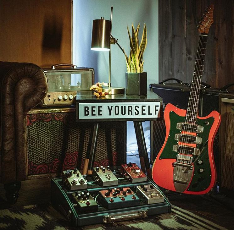 Beetronics,ビートロニクス,ファズ,オーバードライブ,ディストーション,エフェクター,ギターペダル