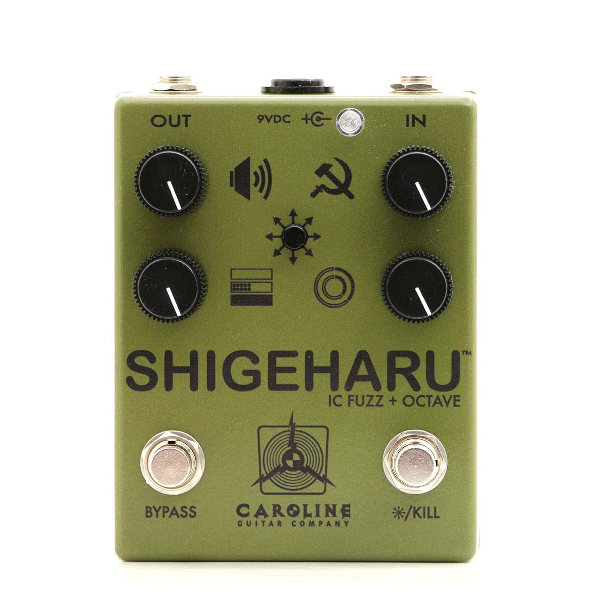 Caroline Guitar Company,Shigeharu,コロンビア,ファズ,限定,ビッグマフ系