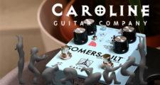 コーラス,ビブラート,ロータリースピーカー,Caroline Guitar Company.SOMERSAULT,ギターペダル,エフェクター