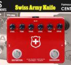 REUSS Swiss Army Knife,ロイス,KLON CENTAUR,ケンタウルス,オーバードライブ,クローンペダル,RAT,ビンテージ,Pro Co,