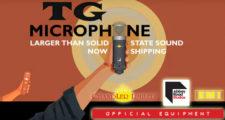 chandler limited,tg microphone,コンデンサーマイク,ボーカルマイク,ラージダイヤフラム,スタジオマイク