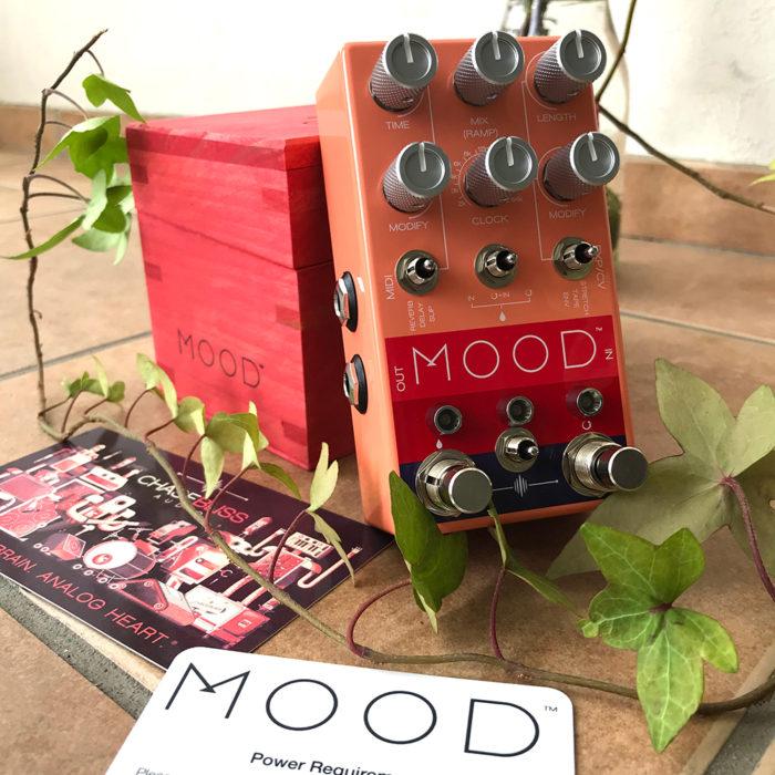 chase bliss audio,mood,m o o d,グラニュラーマイクロサンプラー,ディレイ,グリッチ,エフェクター,ギターペダル,グラニュラーエフェクター