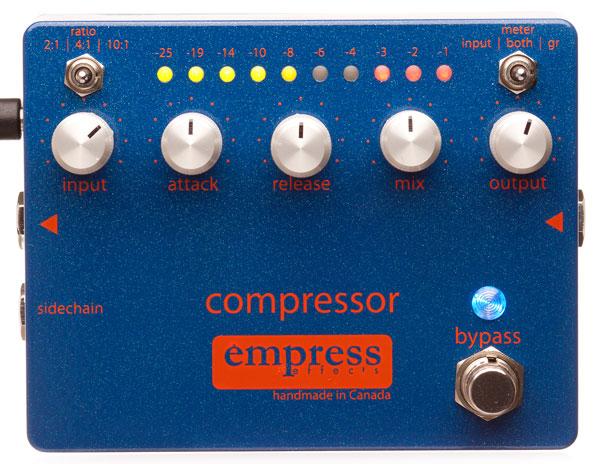ベース,エフェクター,コンプレッサー,櫻井哲夫,機材,Empress Effects,Compressor,音質,コメント,評価
