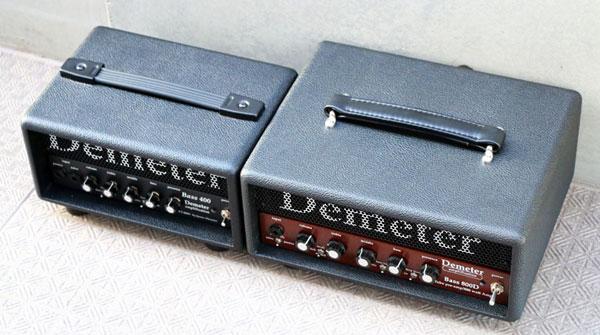 写真はBASS800(Tolex)と、一回りサイズも出力も小さいBASS400。