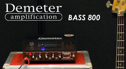 Demeter,Bass800,評価.レビュー,音質