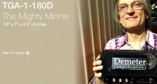 Demeter TGA-1-180D Mighty Minnie ペダルボードアンプ 試奏 デモ