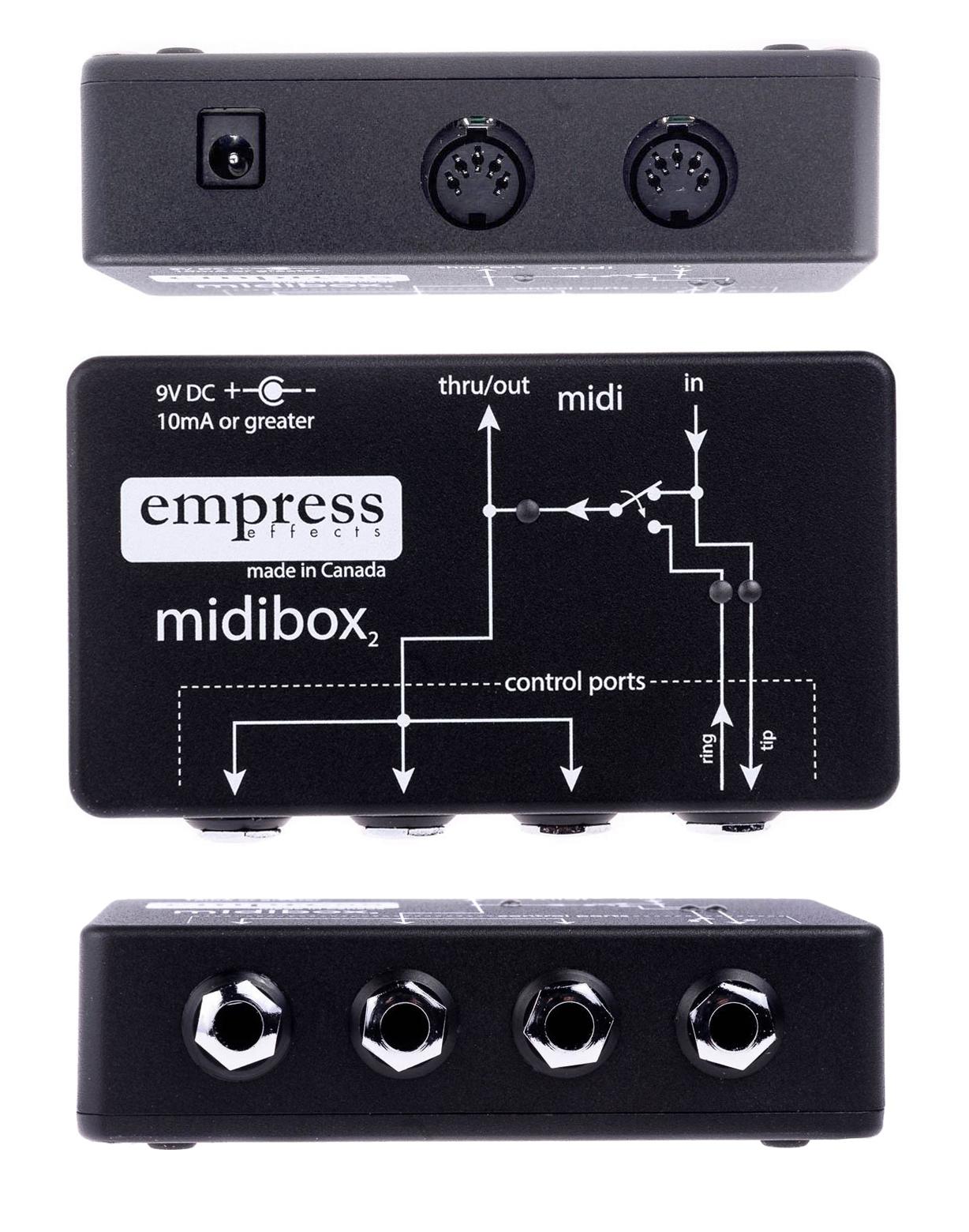 エフェクター,ギターペダル,MIDI接続,MIDIコントロール,MIDI制御
