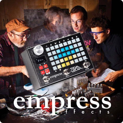 empress effects,エンプレスエフェクト,ZOIA,ゾイア,モジュラーシンセ,モジュラーペダル,エフェクター,モジュラーペダルシステム,マルチエフェクター