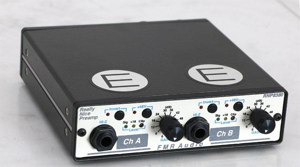FMR AUDIO,RNC1773,RNP8380,コンプレッサー,マイクプリアンプ
