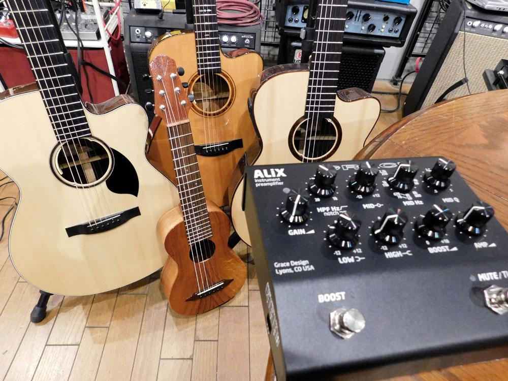 GRACE design,AliX,FELiX,グレースデザイン,アリックス,アコースティックギター,ピックアップ,プリアンプ,レビュー,音質