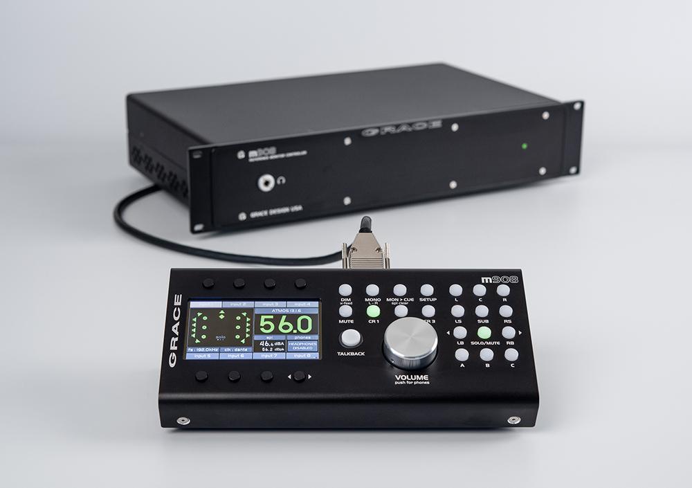 Grace design,m908,サラウンドモニターコントローラー,