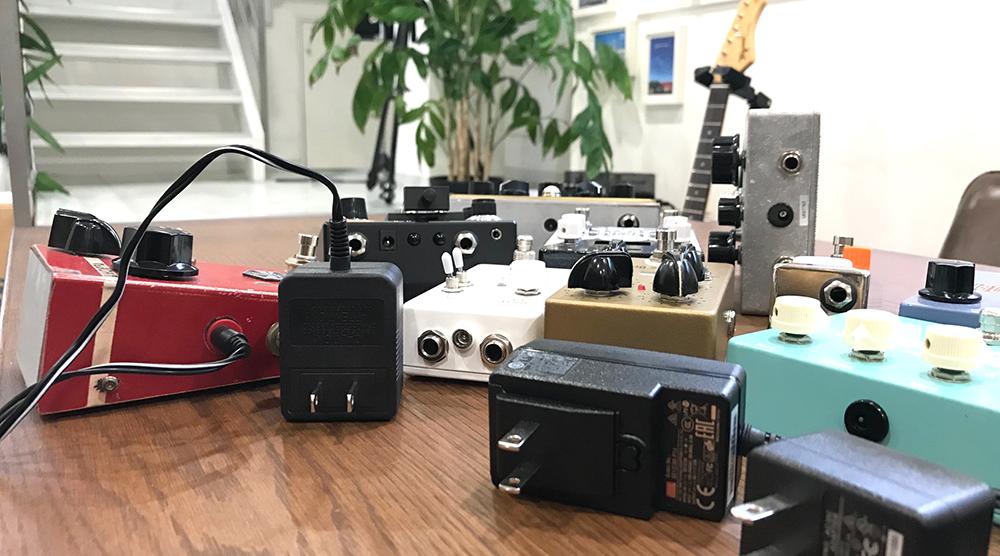 ギターエフェクター,電源,エフェクターパワーサプライ,選び方,ギターペダル,mA,容量,パワーサプライ,何を選べば