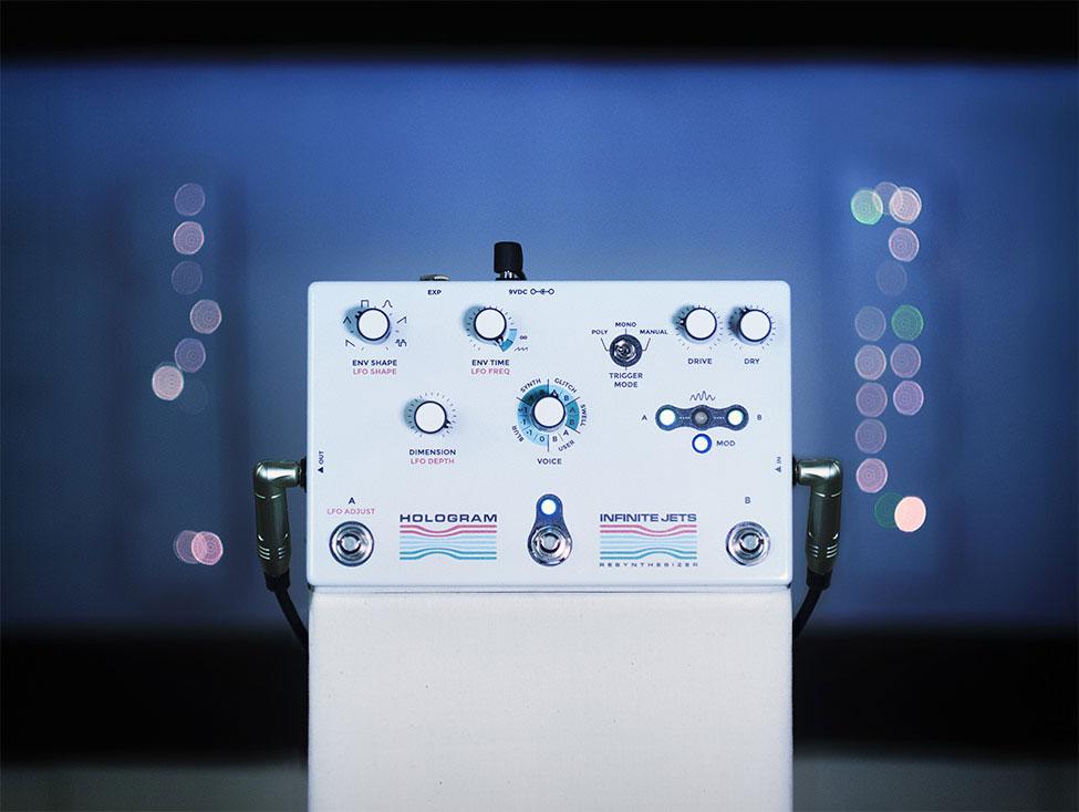 hologram electronics,ホログラム,エフェクター,ギターペダル,ギターシンセエフェクター,dream sequence,infinite-jets-resynthesizer,HOLGRAMエフェクター