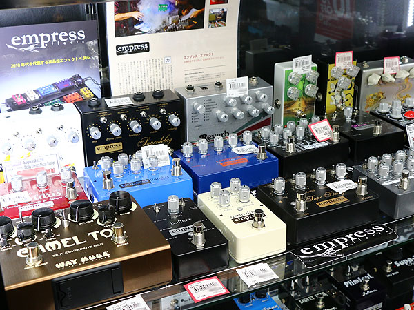 Empress Effects,ギターエフェクター,試奏,展示店