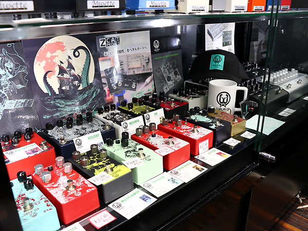 Walrus Audio展示店