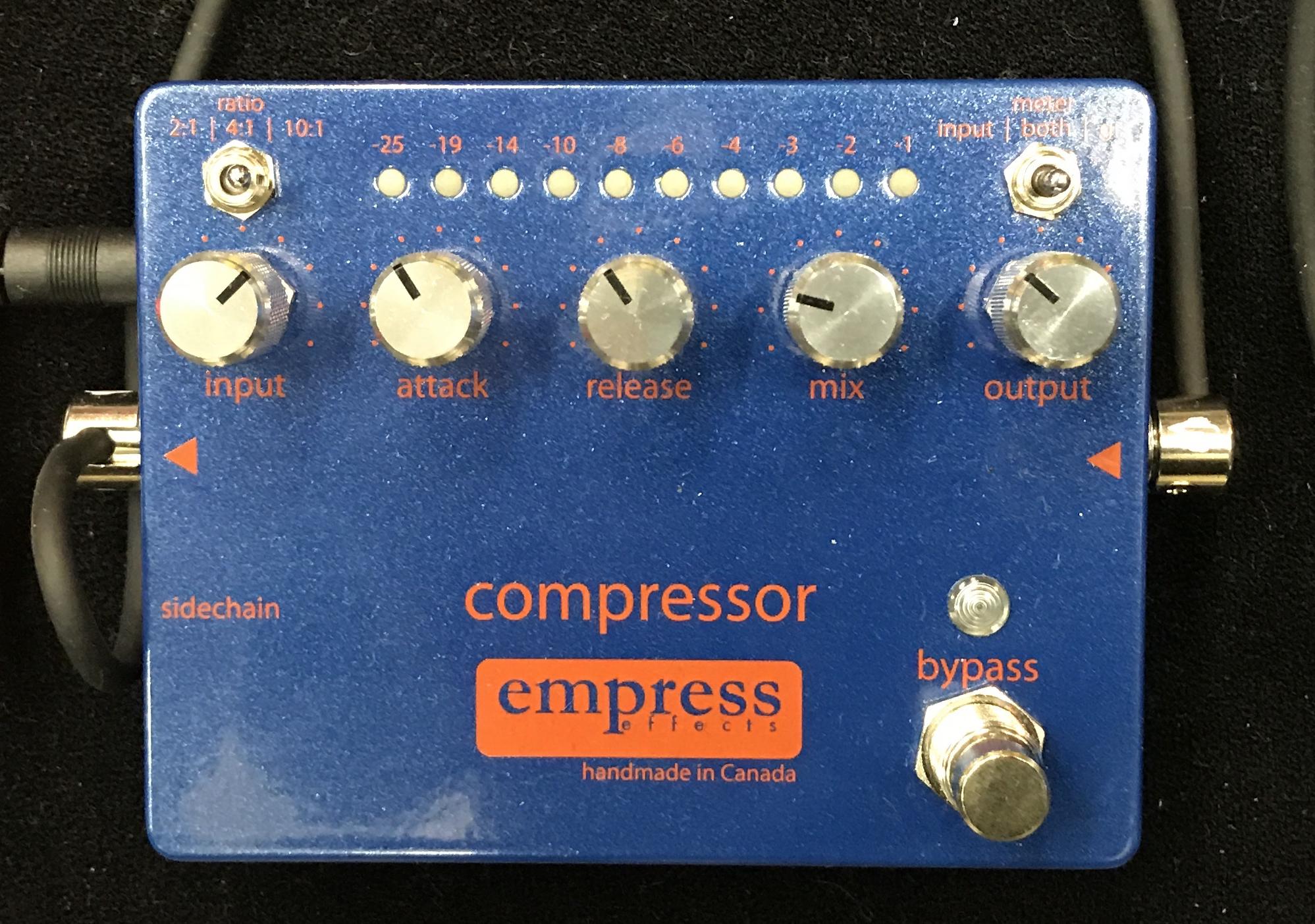 休日課長,ベース,機材,Empress Compressor