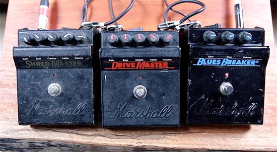 Marshall,Blues Breaker, Drive Master, Shred Master,シュレッドマスター