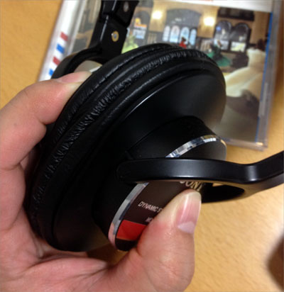 SONY MDR-CD900ST ヘッドホン改造・モディファイ、音質アップグレード