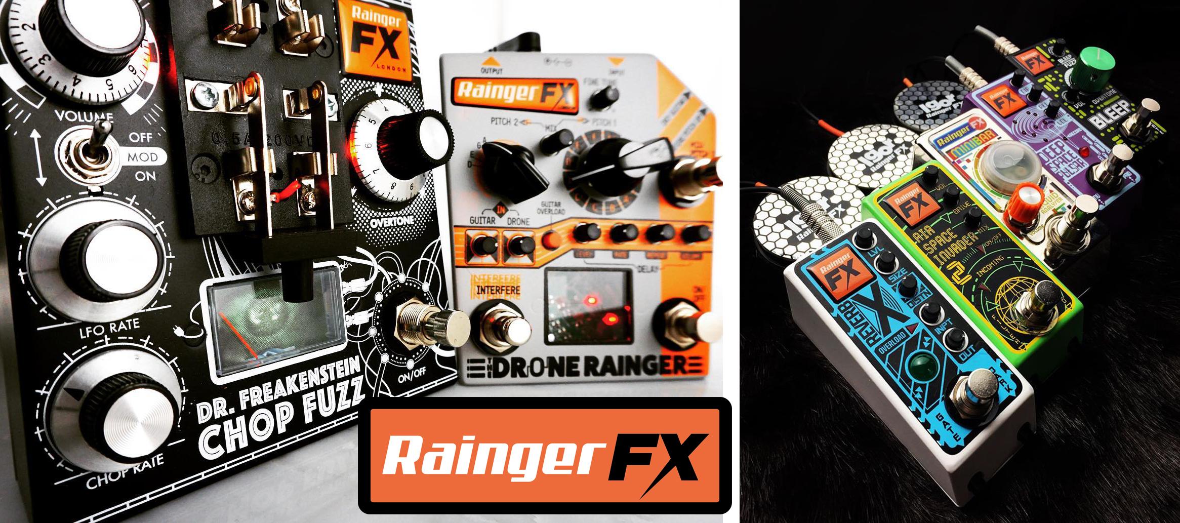 ギターペダル,エフェクター,Rainger Fx,レインジャー