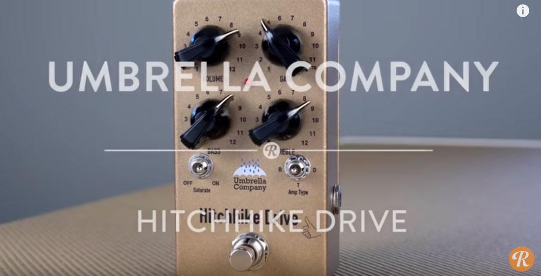 Umbrella Company,Hitchhike Drive,ヒッチハイクドライブ,音質,評価,レビュー,オーバードライブ,プリアンプ,ブースター,サウンド