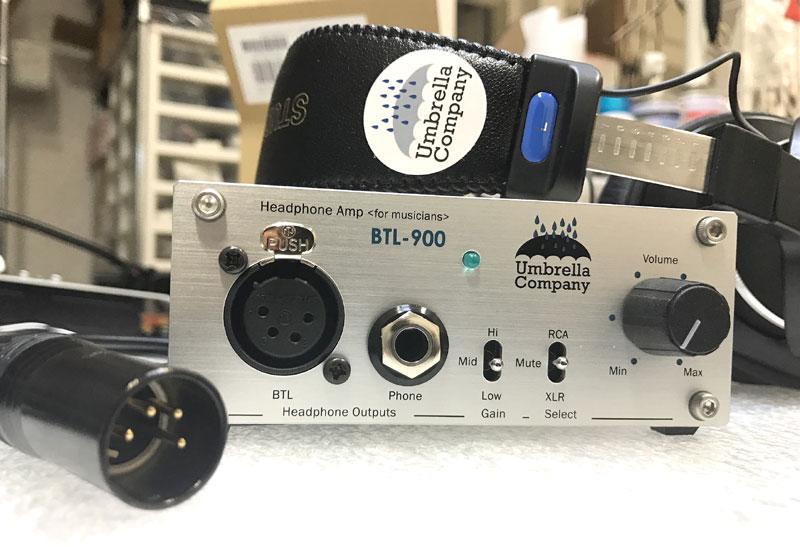 Umbrella Company BTL-900,ヘッドホンアンプSONY,MDR-CD900ST改造,900STモディファイ,900st改造,900st音質,900stチューニング,ヘッドホン改造,ヘッドフォンモディファイ