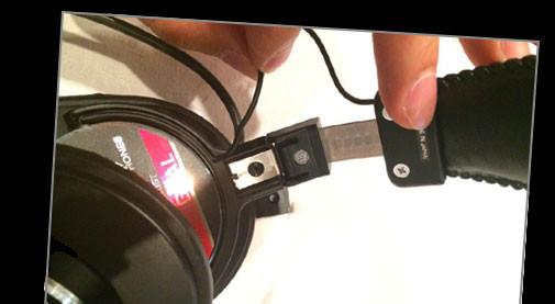 MDR-CD900ST 断線 修理