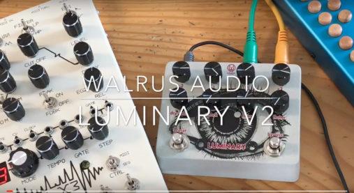 オクターバー,エフェクター,ポリフォニック,WALRUS AUDIO,LUMINARY V2