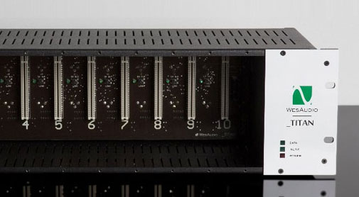 API500モジュラー用電源ラック
