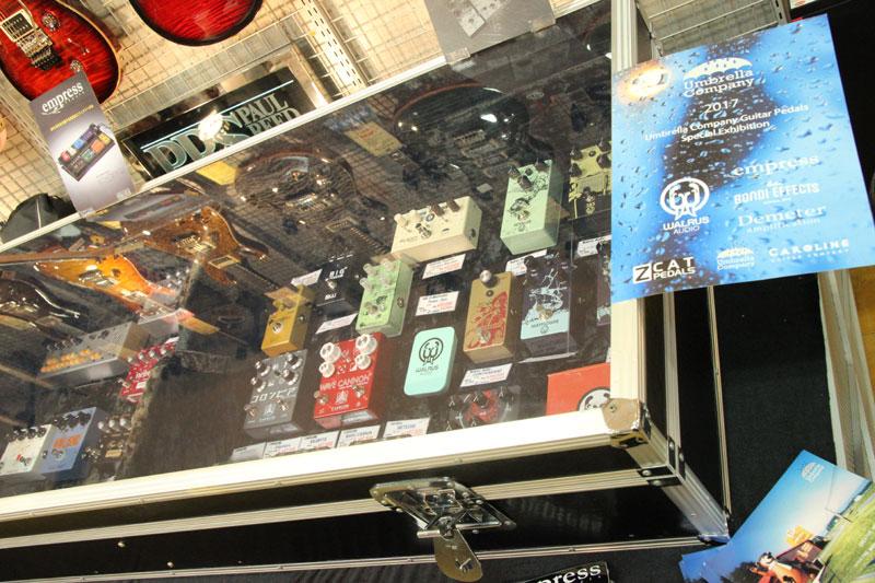 山野楽器新宿ロックイン,アンブレラカンパニー,ギターペダル,エフェクター・フェアー