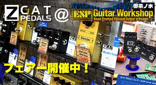 御茶ノ水ギターショップ,エフェクター