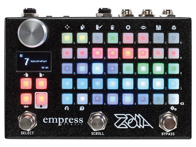 empress effects,zoia,エンプレス,ゾイア,レビュー,評価,口コミ,音質,機能、モジュラーペダルシステム